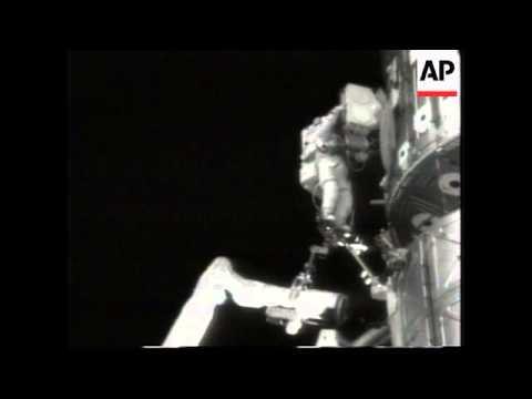 US: Nasa: Spacewalk Wrap: Jim Voss and Susan Helms activities