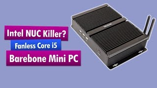 HYSTOU FMP04 i5-7200U Barebone Mini PC
