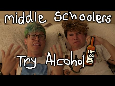 Middle Schoolers Try Alcohol