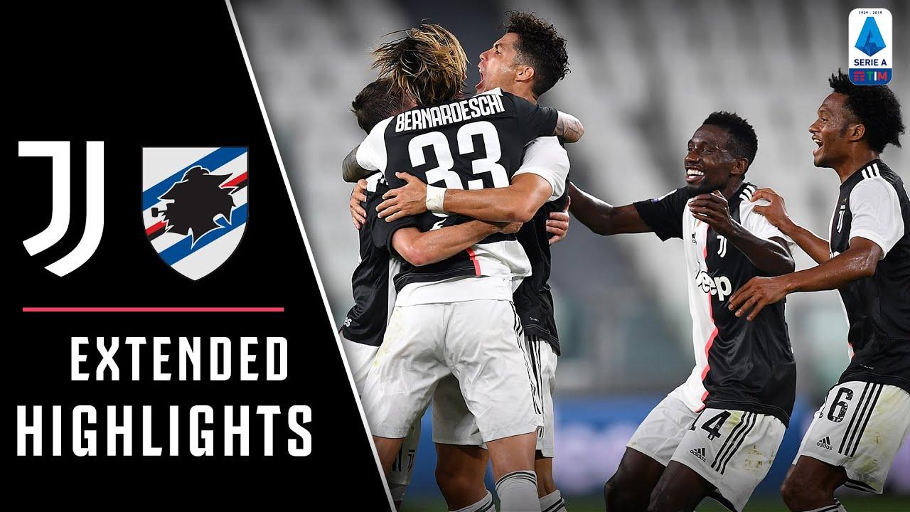 Juventus 2-0 Sampdoria | Juve claim ninth straight Serie A title! | EXTENDED Highlights