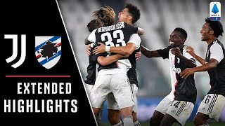 Juventus 2-0 Sampdoria | Juve claim ninth straight Serie A title! | EXTENDED Highlights