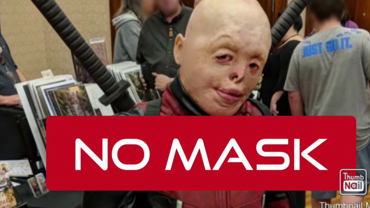 Deadpool No Mask Cosplay Youtube