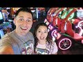 We played ALL the games at the ARCADE!