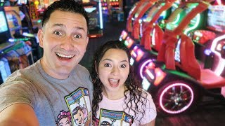 Game | We played ALL the games at the ARCADE! | We played ALL the games at the ARCADE!
