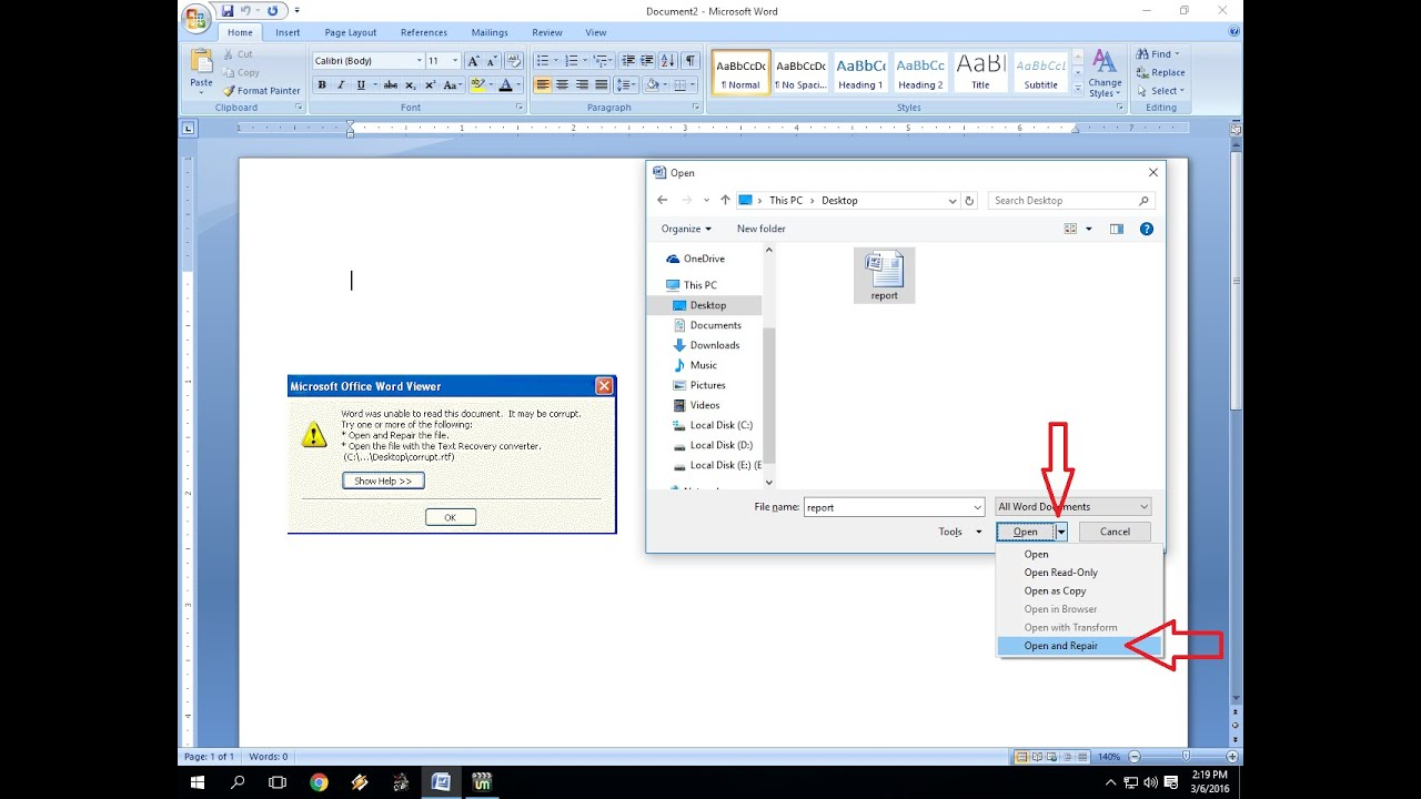 Corrupted Cabinet File Windows 10