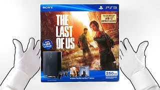 """PS3 """"THE LAST OF US"""" Console Unboxing - Sony PlayStation 3 Super Slim"""
