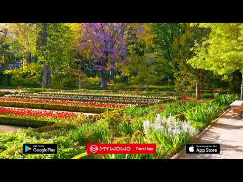 Botanical Garden – Introduction  – Madrid – Audio Guide – MyWoWo Travel App