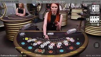 Meine erste Live Blackjack Session im Casino Club