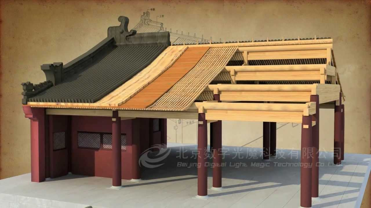 How Did A Chinese Traditional House Be Built By 3d Max