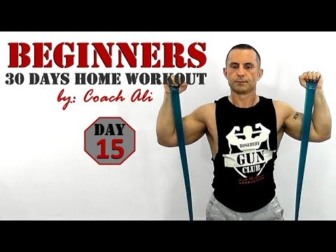 beginners home workout day 15 of 30 full body workout for