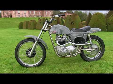 "Classic Dirt Bikes ""Steve McQueen Rickman Metisse Desert Racer Part 2"""