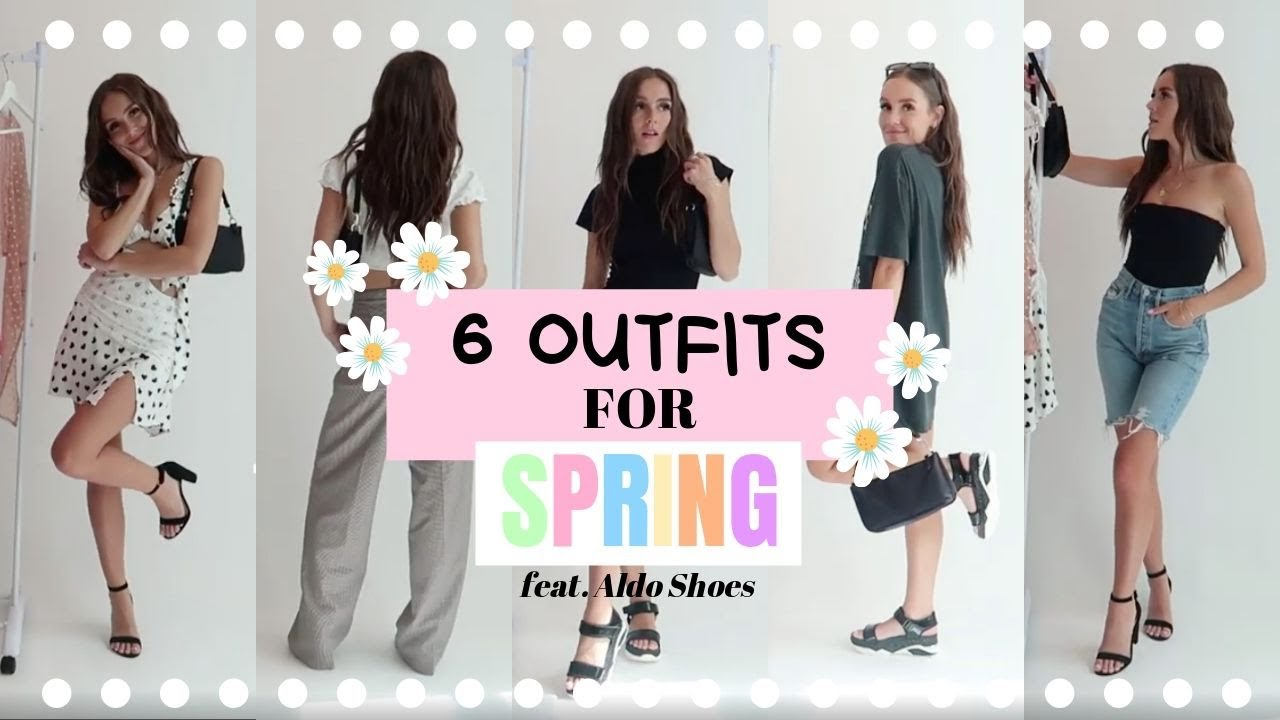 6 OUTFITS FOR SPRING (FEAT. ALDO)   Emma Rose 1