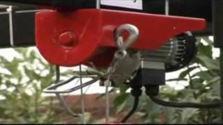Тельфер электрический 1т.avi(http://www.rotan.com.ua Тельфер электрический представляет собой устройство, предназначенное для подъёма грузов...., 2012-02-13T21:04:01.000Z)