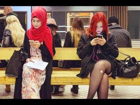 Хиджаб - Сравнение