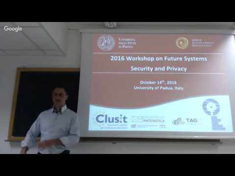 2016 SPRITZ Workshop on Future Systems Security and Privacy