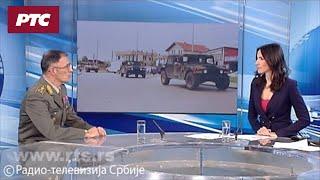 General Mojsilović za RTS: Bezbednosna situacija stabilna ali nepredvidiva