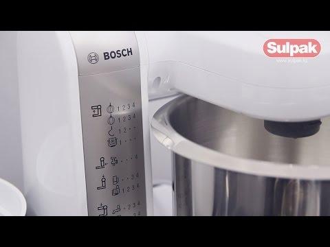 Кухонный комбайн Bosch MUM4880 Распаковка (Sulpak.kz)