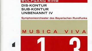 Wolfgang Rihm - Unbenannt IV, for organ and orchestra (2002/2003)