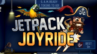 Jetpack Joyride - New Pirate Update Gameplay