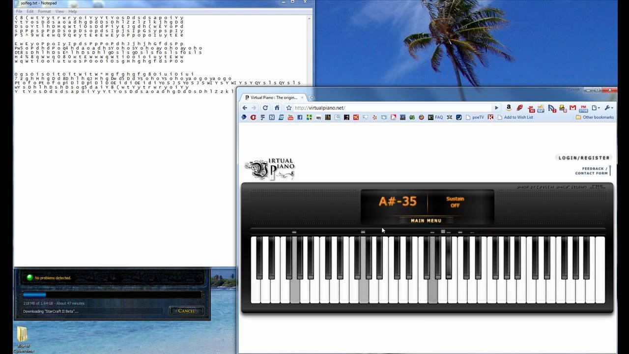 Video Virtual Piano