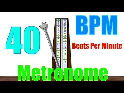 40 BPM Metronome