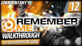 Remember Me MEMORY HUNTER Walkthrough Gameplay - PART 12 | Episode 6 Rotten Core (Commentary)