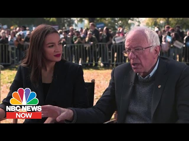 AOC Says Endorsing Bernie Sanders Was 'Moment Of Clarity' | NBC News Now