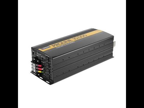 Wagan Tech ProLine Power Inverters - 10,000 8,000 and 5,000 watt (item # 3744, 3746, 3748)