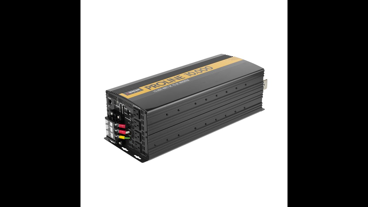 wagan tech proline power inverters - 10,000 8,000 and 5,000 watt