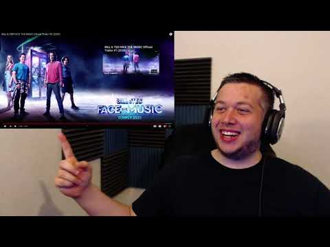 BILL & TED FACE THE MUSIC Official Trailer #2 2020 REACTION