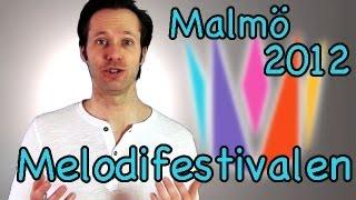 Melodifestivalen 2012 Danny Saucedo Amazing Lisa Miskovsky Why start a fire Deltävling 4 Malmö