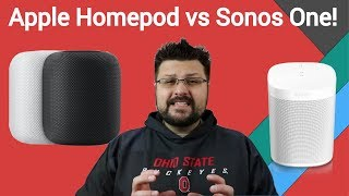 Showdown: Apple Homepod vs Sonos One. Which smart speaker should you buy?!