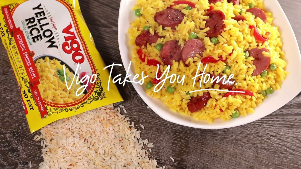 Yellow Rice From Side Dish To Main Dish To One Pot Meal Youtube