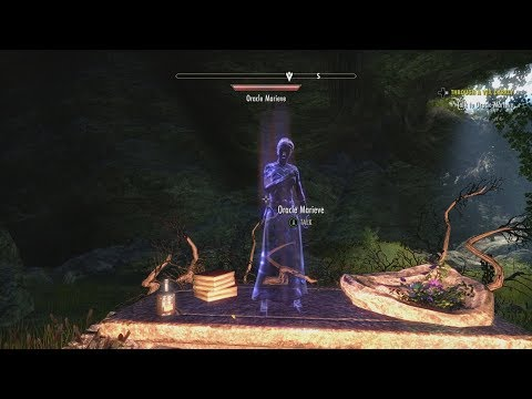 ESO: New Quest, Through A Veil Darkly (How To Perform The Ritual) New Memento