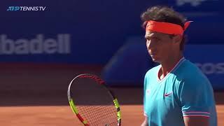 Best Rafa Nadal Shots in Win v Mayer | Barcelona Open 2019
