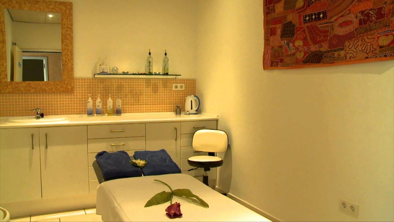 Sala masajes spa hotel costa calero youtube for Decorar mi centro de estetica