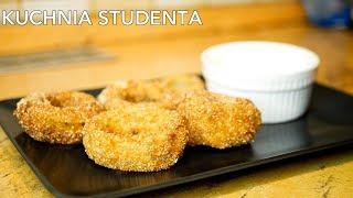 Serowe Krążki Cebulowe za 5zł | Kuchnia Studenta #40
