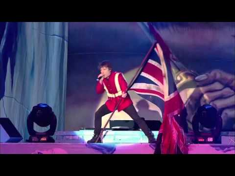 IRON MAIDEN - The Trooper (Live Download Fest 2013)