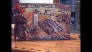 Gears Of War Battle Erector Set Unboxing/review Part 1