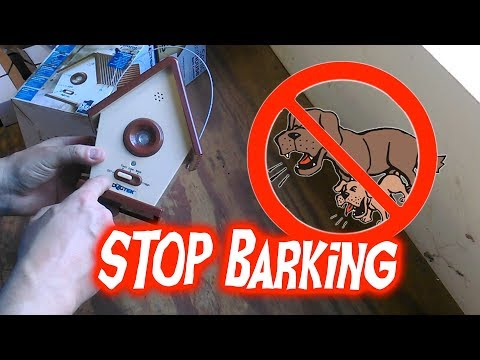 Stop Dogs From Unwanted Barking with DogTek Sonic BirdHouse