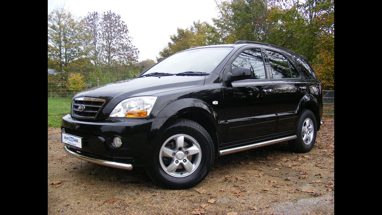 4X4 For Sale >> 2009 Kia Sorento 2.5 CDTi XT, Black For Sale In Kent - YouTube