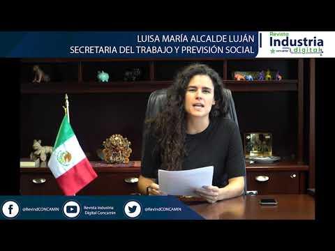 LUISA MARIA ALCALDE SECRETARIA DEL TRABAJO