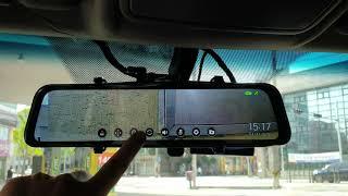 파인뷰 LX3 룸미러블랙박스, 라이브화면 메뉴 살펴보기…