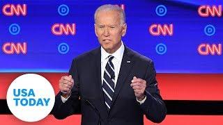 2020 Democratic debate: night two brings attacks on Joe Biden