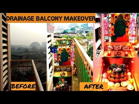 Indian small Balcony makeover with landscaping decor ideas ||garden stories (episode-5)