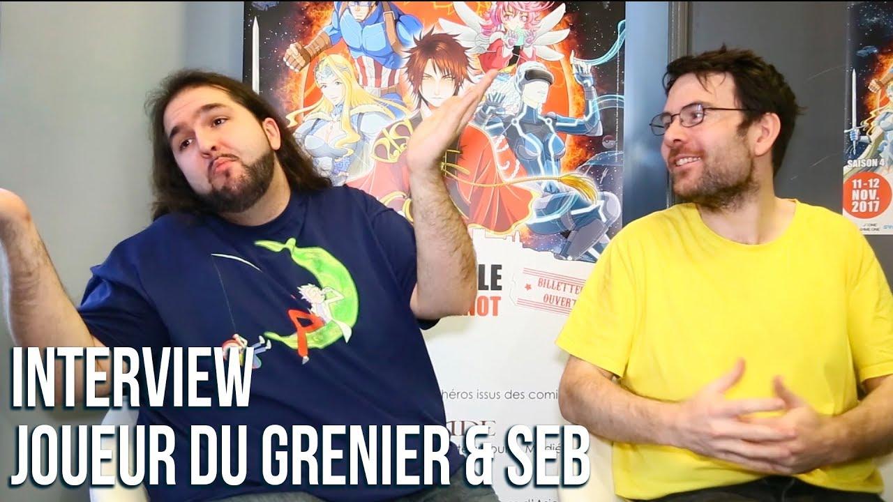 Interview de Joueur du Grenier avec la présence exceptionnelle de David Goodenough