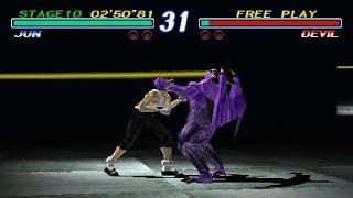 [TAS] Tekken 2 - Jun Kazama