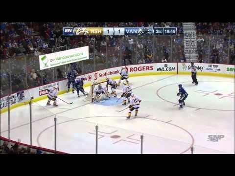 NHL 2014 11 02 Nashville Predators vs Vancouver Canucks Condensed Game 720p HDTV 60fps x264 Reborn4H