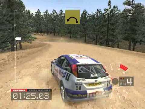 colin mcrae rally 3 usa ss1 ford focus rs wrc 01 youtube. Black Bedroom Furniture Sets. Home Design Ideas