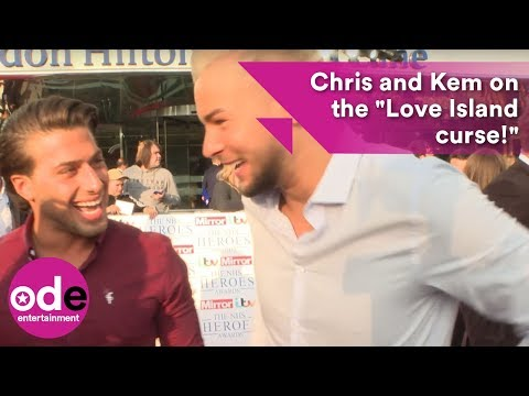 Kem Cetinay and Chris Hughes on the
